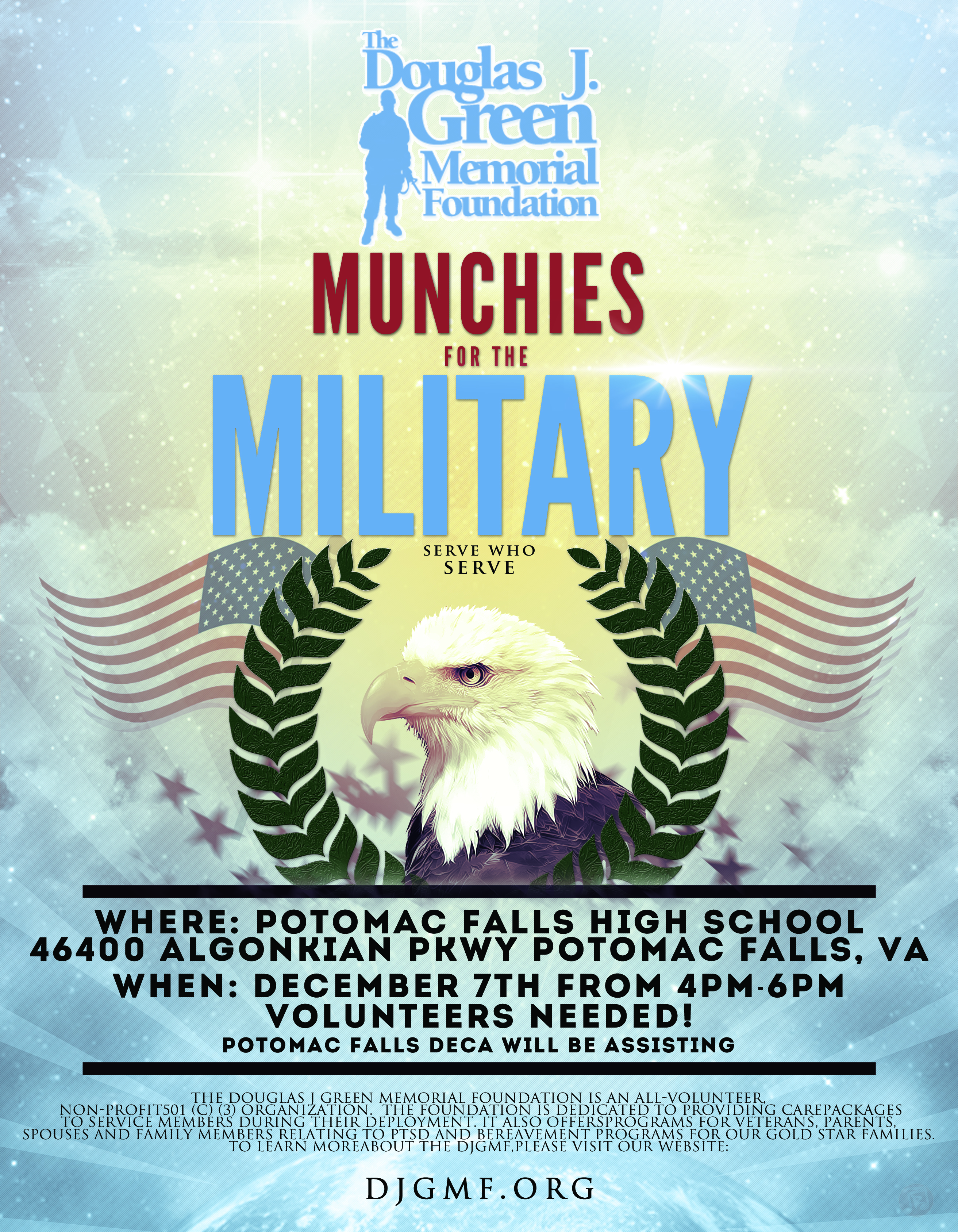 Virginia Munchies for the Military