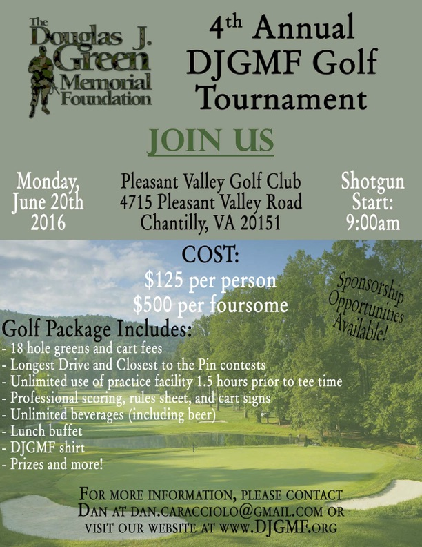 4th Annual DJGMF Golf Tournament