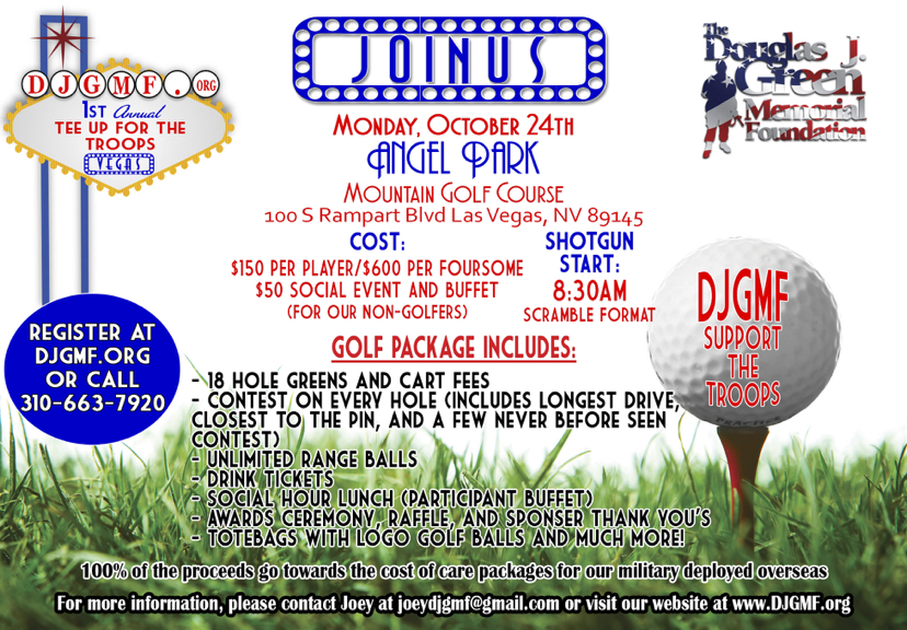 Tee Up for The Troops!